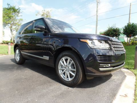 New 2016 Land Rover Range Rover 3.0L V6 Turbocharged Diesel Td6 With Navigation & 4WD