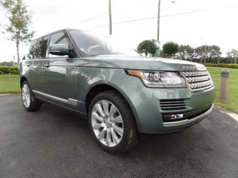 New 2016 Land Rover Range Rover 5.0L V8 Supercharged With Navigation & 4WD