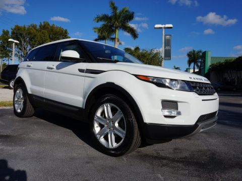 Certified Pre-Owned 2014 Land Rover Range Rover Evoque Pure Plus 4WD