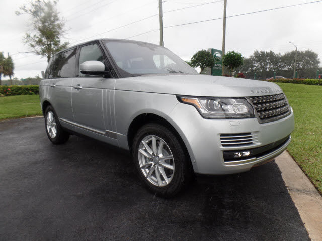 New 2016 Land Rover Range Rover 3.0L V6 Supercharged